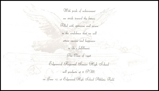 Ceremony Invitation